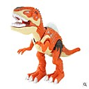 cheap Animal Action Figures-Animals Action Figure Light Up Toy Model Building Kit Educational Toy Tyrannosaurus Dinosaur Lighting Walking Large Size Simulation
