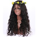 cheap Hair Accessories-Human Hair Lace Front Wig Wavy / Body Wave Wig 130% Natural Hairline / African American Wig / 100% Hand Tied Women's Short / Medium Length / Long Human Hair Lace Wig