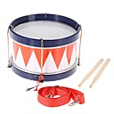cheap Chandeliers-Colorful Children Kids Toddler Drum Musical Toy Percussion Instrument with Drum Sticks Strap