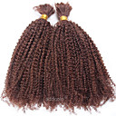 cheap Synthetic Capless Wigs-Brazilian Hair Kinky Curly Human Hair Weaves 1 Piece Bundle Hair