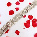 cheap Bracelets-Acrylic Wedding / Special Occasion / Anniversary Sash With Rhinestone / Imitation Pearl / Appliques Sashes