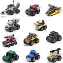 baratos Carros de brinquedo-Caminhões & Veículos de Construção Civil Brinquedos de Montar Brinquedo Educativo Tanque Caminhão Plástico ABS Unisexo Dom 1pcs