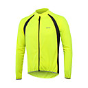 cheap Car Exterior Lights-Arsuxeo Men's Long Sleeve Cycling Jersey - Red Green Blue Patchwork Bike Jersey Top, Fast Dry Breathability Reflective Strips, Spring Summer, 100% Polyester / Stretchy
