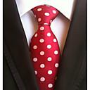 رخيصةأون مجوهرات دينية-ربطة العنق منقط رجالي عمل / أساسي