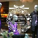 preiswerte Weihnachtsschmuck-Dekorative Wand Sticker - Flugzeug-Wand Sticker Romantik / Weihnachten / Feiertage Esszimmer / Studierzimmer / Büro / Shops / Cafés