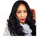 cheap Human Hair Wigs-Human Hair Lace Front / Glueless Lace Front Wig Curly 130% Density Fine Writing / New / Can Be Used Wet & Dry Short / Medium / Long