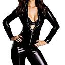 voordelige sexy Lingerie-Dames Dieren Sekse Zentai-Pakken Cosplay Kostuums Catsuit Effen Gympak / Onesie