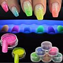 cheap Nail Glitter-1pc Acrylic Powder / Powder / Nail Glitter Sparkle & Shine / Fluorescent Nail Art Design
