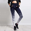 cheap Smartwatches-Women's Sporty Legging - Print, Color Block Mid Waist