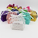 cheap Favor Holders-Others Card Paper Favor Holder with Ribbons Favor Boxes - 50