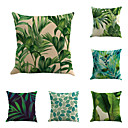 cheap Wall Stickers-6 pcs Cotton / Linen Pillow Cover / Pillow Case, Botanical / Novelty / Classic Classical / Retro / Traditional / Classic