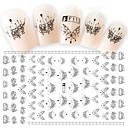 cheap Nail Stickers-2 pcs 3D Nail Stickers Nail DIY Tools nail art Manicure Pedicure 3D Fashion Daily