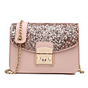 cheap Totes-Women's Bags PU Crossbody Bag for Event / Party / Formal / Outdoor Blue / Black / Blushing Pink