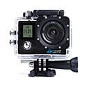 Недорогие Спортивные экшн-камеры-QQT SJ8000D ведет видеоблог На открытом воздухе / Высокое разрешение / Портативные 64 GB 30fps 8 mp / 12 mp / 16 mp 1280x960 пиксель 2 дюймовый КМОП-структура H.264 Один снимок 45 m -1/3