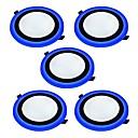 preiswerte LED Doppelsteckerlichter-JIAWEN 6 W 2835 LED-Perlen Dekorativ Instrumententafel-Leuchten Natürliches Weiß Blau 85-265 V / 5 Stück