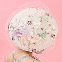 cheap Party Headpieces-Tulle / Chiffon / Lace Fascinators / Hats / Hair Clip with 1 Wedding / Special Occasion / Birthday Headpiece