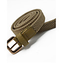 abordables Básicos de Viaje para Perros-Mujer Legierung Cinturón Slim - Cinturón Vestido Un Color