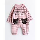 cheap Walkie Talkies-Baby Girls' Lattice Long Sleeve Cotton Overall & Jumpsuit