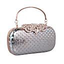 cheap Rubik's Cubes-Women's Bags leatherette Clutch Rhinestone / MiniSpot Gold / Black / Silver