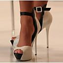 preiswerte Damen Heels-Damen Schuhe PU Sommer Komfort High Heels für Normal Weiß