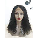 cheap Human Hair Wigs-Human Hair Glueless Lace Front Lace Front Wig Brazilian Hair Curly Wig 130% 150% 180% Density with Baby Hair Natural Hairline Unprocessed 100% Hand Tied Women's Short Medium Length Long Human Hair
