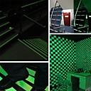 povoljno Zidne tapete-svjetleće svjetleće trake upozoravajuće pruge svijetle u tamnim redovima za nuždu naljepnica od vinilne naljepnice fluorescentna traka naljepnica