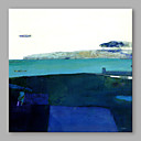baratos Pinturas Abstratas-Pintura a Óleo Pintados à mão - Abstrato Artistíco Tela de pintura