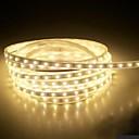 billige LED Strip Lamper-4m 240 LED 5050 SMD Varm hvit / Hvit / Blå Vanntett 220 V / IP65