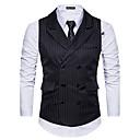 رخيصةأون ملابس الصيد-للرجال Vest مخطط ضعيف