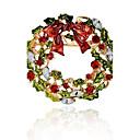 olcso Divatos melltűk-Szintetikus gyémánt Melltűk - Bross Különböző színekben Kompatibilitás Karácsony / Ajándék