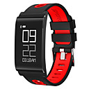 cheap Smart Activity Trackers & Wristbands-Men's / Women's Sport Watch / Fashion Watch / Dress Watch Chinese Heart Rate Monitor / Calendar / date / day / Slide Rule Silicone Band Charm / Luxury / Casual Red / Green / Grey / Pedometers