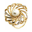 cheap Brooches-Women's Brooches - Imitation Pearl Classic, Fashion Brooch Gold / Silver For Daily / Casual