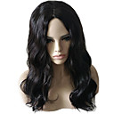cheap Synthetic Capless Wigs-Synthetic Wig / Cosplay & Costume Wigs Wavy / Natural Wave Asymmetrical Haircut Synthetic Hair Natural Hairline / African American Wig Black Wig Women's Medium Length / Long Capless