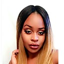 cheap Wedding Shoes-Human Hair Glueless Full Lace / Full Lace Wig Brazilian Hair Straight Wig With Baby Hair 130% Natural Hairline / For Black Women Women's Short / Medium Length / Long Human Hair Lace Wig
