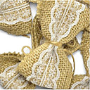 cheap Earrings-Wedding / Party / Valentine's Day Material Jute Wedding Decorations Classic Theme / Wedding All Seasons