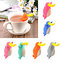 cheap Decorating Tools-Silicone Creative Kitchen Gadget / Tea Platypus 1pc Filter / Tea Strainer