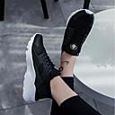 povoljno Muške tenisice-Muškarci Udobne cipele Mrežica / PU Jesen / Zima Sneakers Obala / Crn / Crno-bijeli / Atletski / Vezanje / Osvjetljenje / EU40