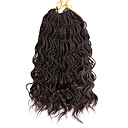 cheap Hair Braids-Braiding Hair Curly Twist Braids Synthetic Hair 2pcs Hair Braids Medium Length 100% kanekalon hair
