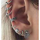 olcso Divat fülbevalók-Női Klipszes fülbevalók - Vintage Ezüst Kompatibilitás Napi