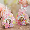 cheap Favor Holders-Basket Creative Card Paper Favor Holder with Pattern Favor Boxes Gift Boxes - 20