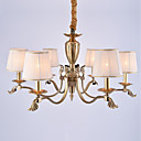 cheap Chandeliers-6-Light Chandelier Ambient Light - Mini Style, 110-120V / 220-240V Bulb Not Included / 30-40㎡ / E12 / E14