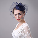 cheap Bracelets-Flax Fascinators / Birdcage Veils with 1 Wedding / Party / Evening Headpiece
