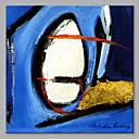 preiswerte Abstrakte Gemälde-Hang-Ölgemälde Handgemalte - Abstrakt Künstlerisch Segeltuch
