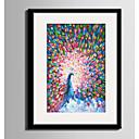 olcso Bekeretezett műalkotások-Bekeretezett vászon Bekeretezett szett Absztrakt Állatok Wall Art, PVC Anyag a Frame lakberendezési frame Art Nappali szoba Hálószoba