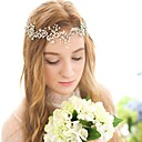 cheap Party Headpieces-Crystal / Imitation Pearl Headbands / Headwear / Head Chain with Floral 1pc Wedding / Special Occasion / Birthday Headpiece