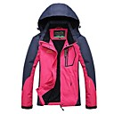 cheap Softshell, Fleece & Hiking Jackets-Women's Hiking Jacket Outdoor Winter Windproof Rain-Proof Breathability Top Full Length Visible Zipper Camping / Hiking Climbing Cycling
