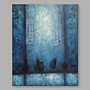 cheap Landscape Paintings-Oil Painting Hand Painted - Abstract Artistic Canvas
