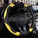 povoljno TV tuneri-Prekrivači za upravljač 38cm Burgundac / žuta / Bijela For Chevrolet Aveo / Cruze / Epica