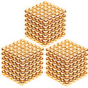 cheap Magnet Toys-3 pcs 3mm Magnet Toy Magnetic Balls Building Blocks Puzzle Cube Stress and Anxiety Relief Office Desk Toys Relieves ADD, ADHD, Anxiety, Autism Novelty Kid's / Adults' Boys' Girls' Toy Gift
