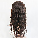 cheap Costume Wigs-Human Hair Full Lace Wig Brazilian Hair Curly Wig 120% With Baby Hair Women's Medium Length Human Hair Lace Wig